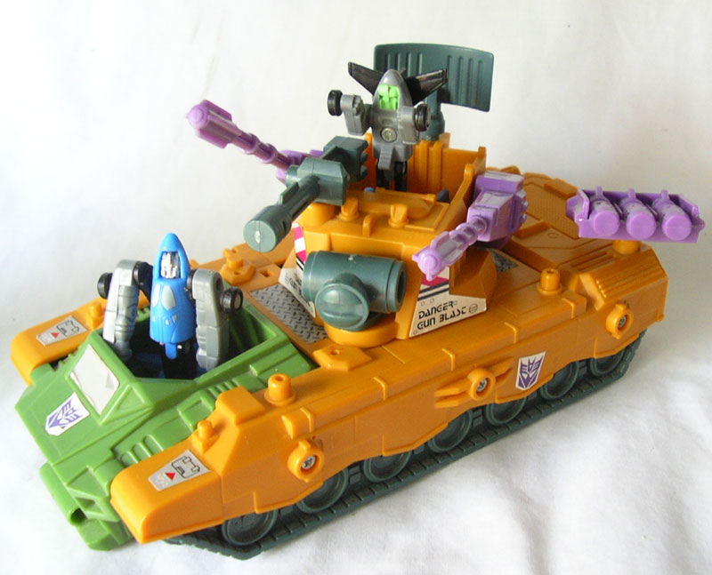 Transformers G1 1989 ANTI AIRCRAFT BASE front car vehicle micromaster